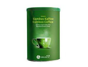 Bambuskaffee Getreidekaffee
